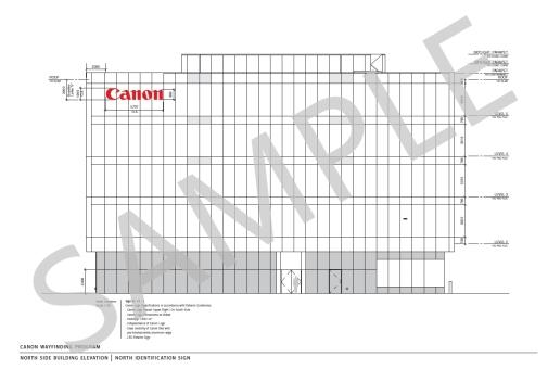 2014-1-1 Canon Canada Headquarters April 2014, Mississauga Road & Steeles Avenue West, Brampton, Ontario