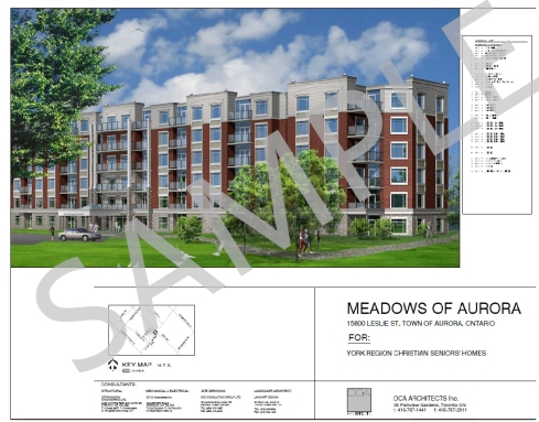 2017-4-1 MEADOWS OF AURORA PHASE 1A, July 2017, 15600 Leslie St., Aurora, Ontario